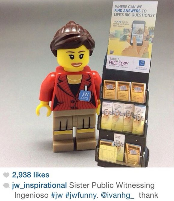LEGO Makes Jehovah's Witness Publisher & Trolley Toys!