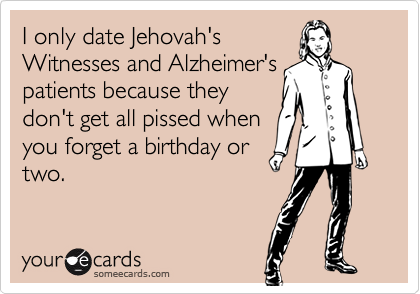 Birthday thought